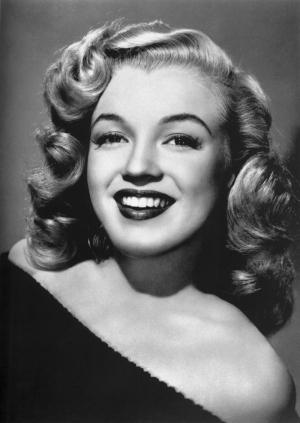 Marilyn Monroe Siyah Beyaz Fotoğraf Kanvas Tablo