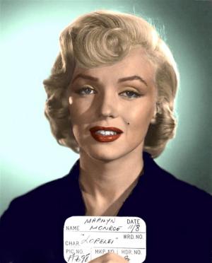 Marilyn Monroe Ünlü Yüzler Kanvas Tablo