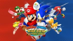 Mario ve Sonic Popüler Kültür Kanvas Tablo