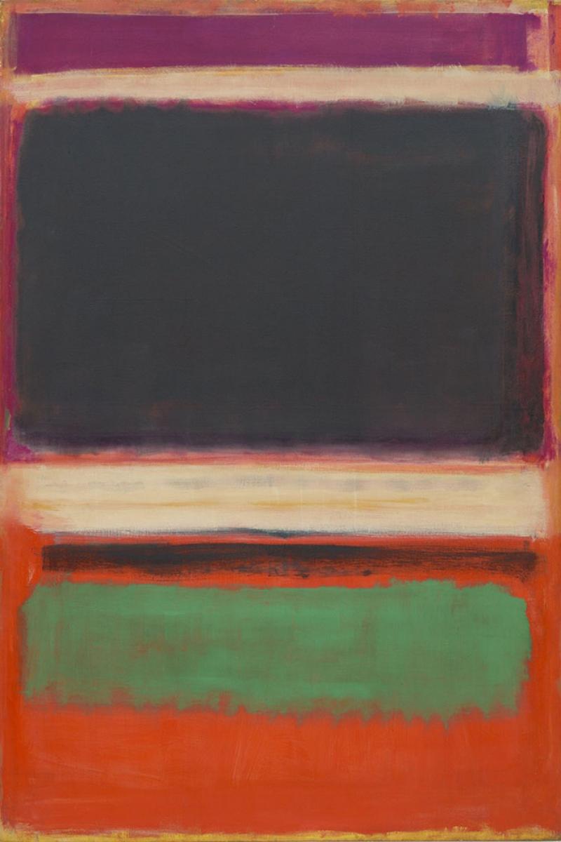 Mark Rothko 1 Yagli Boya Klasik Sanat Kanvas Tablo