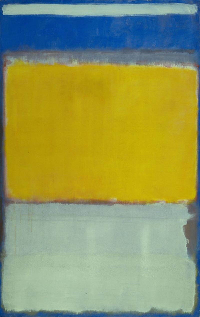Mark Rothko 4 Yagli Boya Klasik Sanat Kanvas Tablo