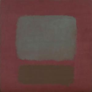 Mark Rothko 6 Yagli Boya Klasik Sanat Kanvas Tablo
