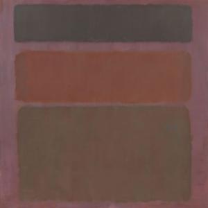 Mark Rothko 7 Yagli Boya Klasik Sanat Kanvas Tablo