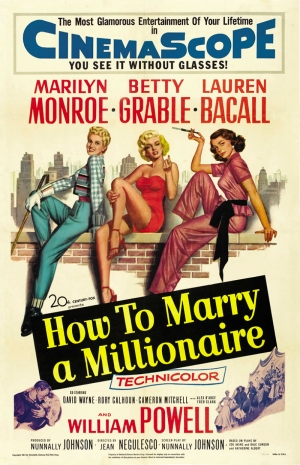 Marliyn Monroe Film Poster Çizim Kanvas Tablo
