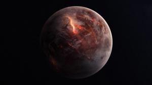 Mars Dünya & Uzay Kanvas Tablo