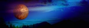 Mars Manzarası Dünya & Uzay Kanvas Tablo