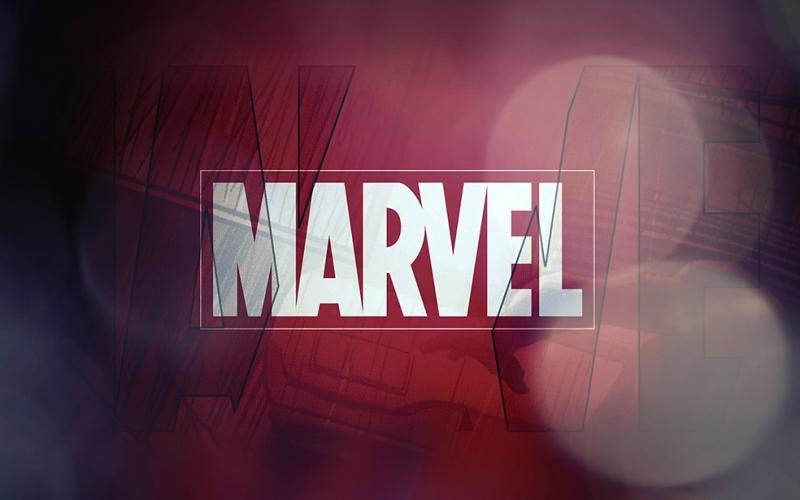 Marvel Logo Popüler Kültür Kanvas Tablo