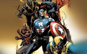 Marvel Süper Kahramanlar Popüler Kültür Kanvas Tablo