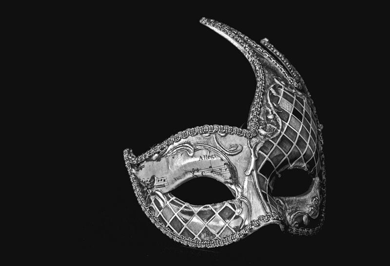 Maske Fotoğraf Kanvas Tablo