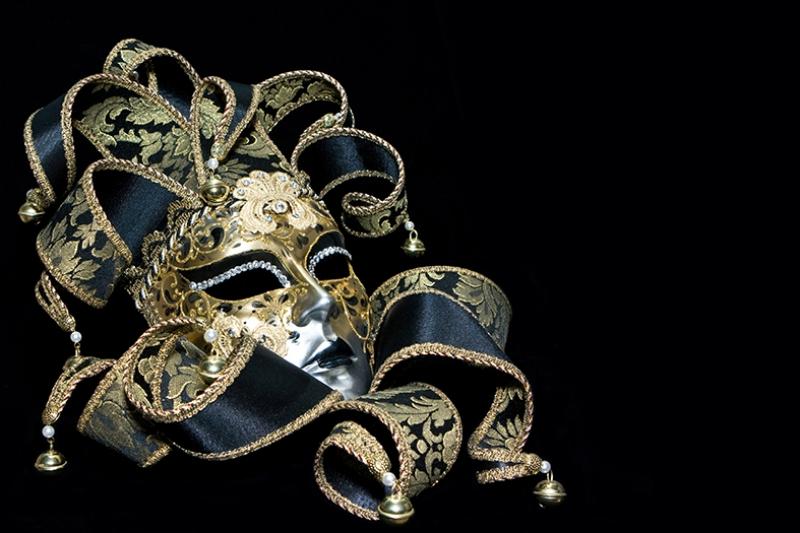 Maskeli Balo Fotoğraf Kanvas Tablo