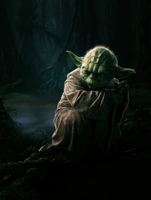 Master Yoda 2 Star Wars Kanvas Tablo
