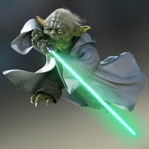 Master Yoda Star Wars Kanvas Tablo