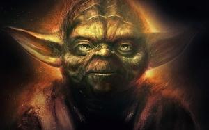 Master Yoda Star Wars Popüler Kültür Kanvas Tablo