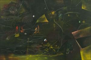 Matta Vertigo of Eros Yagli Boya Klasik Sanat Kanvas Tablo