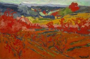 Maurice de Vlaminck Sonbahar Yuryuzu Manzara Yagli Boya Klasik Sanat Kanvas Tablo