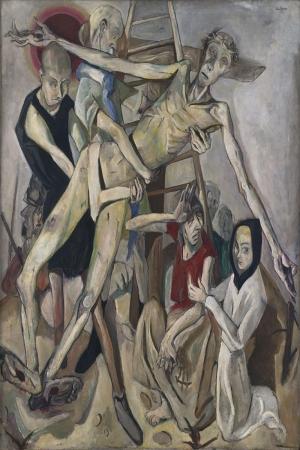 Max Beckmann Carmiktan Indirilme Yagli Boya Klasik Sanat Kanvas Tablo