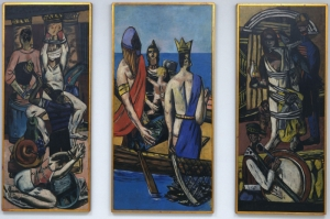 Max Beckmann Hareket Yagli Boya Klasik Sanat Kanvas Tablo