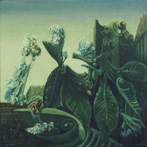 Max Ernst Eko Yagli Boya Klasik Sanat Kanvas Tablo