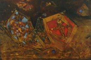 Max Ernst Mundust Est Fabula Yagli Boya Klasik Sanat Kanvas Tablo