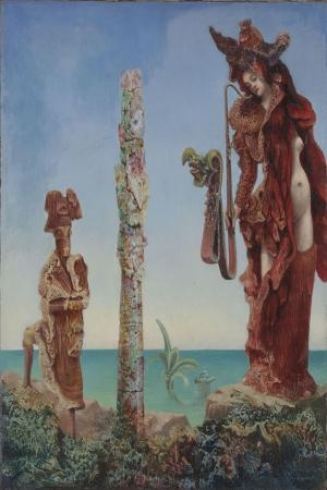 Max Ernst Napolyon Yagli Boya Klasik Sanat Kanvas Tablo
