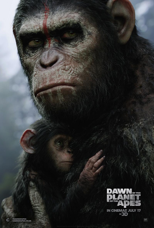 Maymunlar Cehenneminden Kaçış Kanvas Tablo