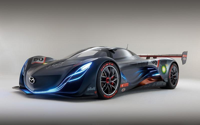 Mazda Konsept Otomobil Araçlar Kanvas Tablo