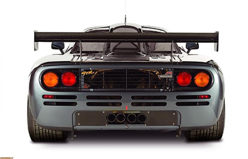 McLaren F1 Gri Spor Otomobil Kanvas Tablo