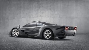 Mclaren F1 GT Otomobil Araçlar Kanvas Tablo