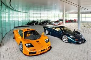 Mclaren F1 Spor Otomobil Kanvas Tablo
