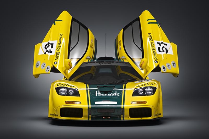 Mclaren Yarış Versiyonu Otomobil Araçlar Kanvas Tablo