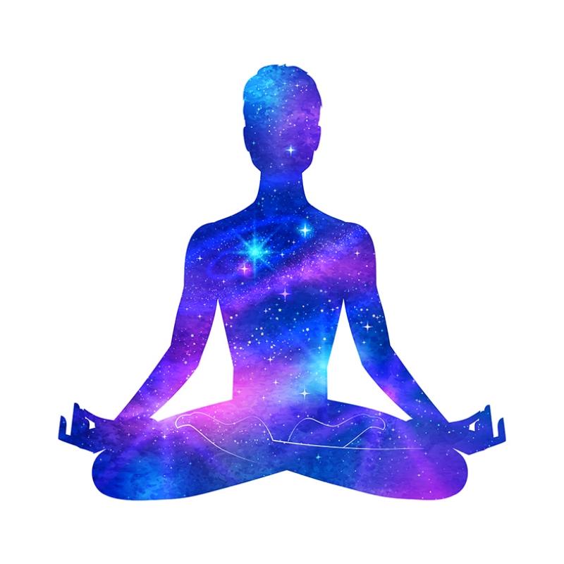 Meditasyon Astroloji & Burçlar Kanvas Tablo
