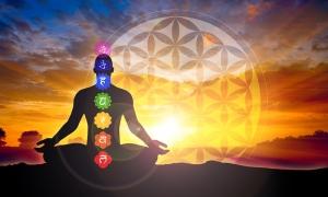 Meditasyon ve Çakralar Astroloji & Burçlar Kanvas Tablo