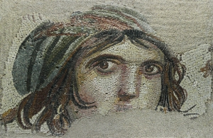 Meduse Fresk Tarihi Eser Antep Yağlı Boya Sanat Kanvas Tablo