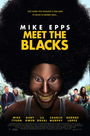 Meet The Blacks Mask Film Afişi Sinema Kanvas Tablo