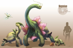 Meganium Gyarados 14 Pokemon Karakterleri Kanvas Tablo