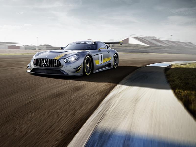 Mercedes AMG GT3 Otomobil Araçlar Kanvas Tablo