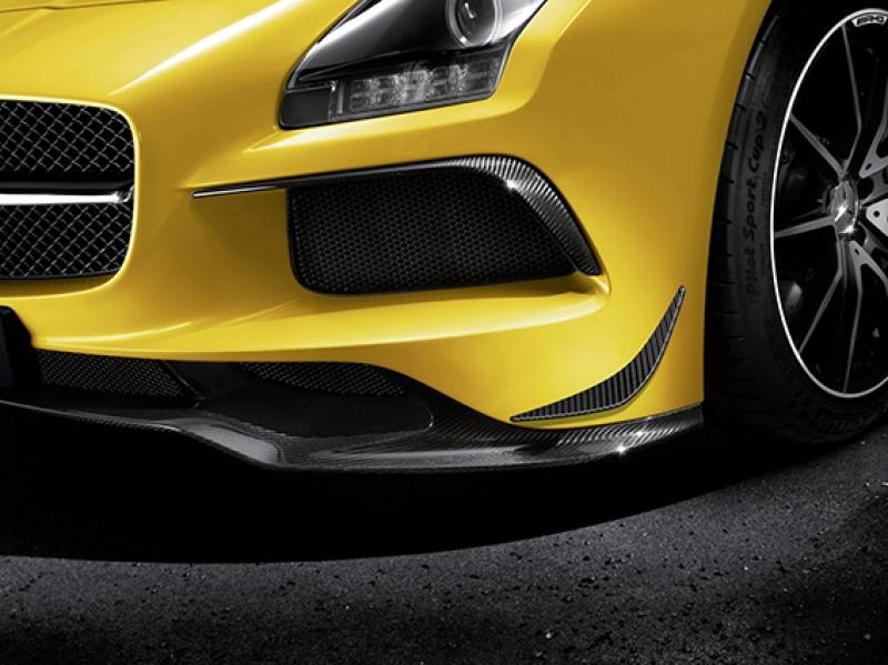 Mercedes Amg Sarı Spor Otomobil Kanvas Tablo