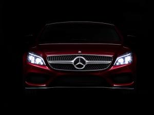 Mercedes Benz CLS 2 Otomobil Araçlar Kanvas Tablo