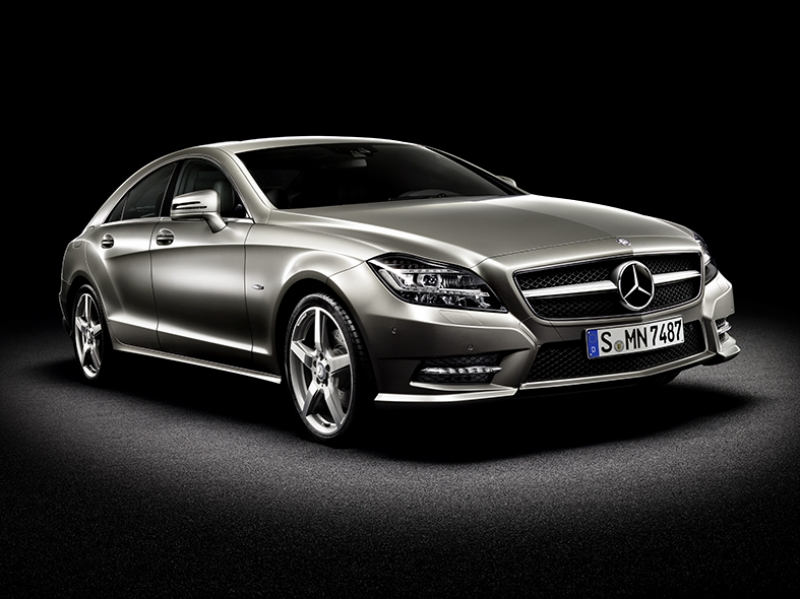 Mercedes Benz CLS Otomobil Araçlar Kanvas Tablo