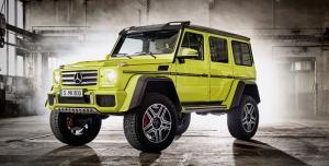 Mercedes Benz G 500 Spor Otomobil Araçlar Kanvas Tablo
