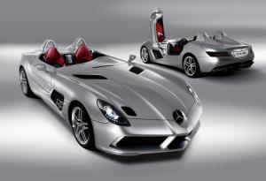 Mercedes Benz SLR Mclaren Spor Otomobil Araçlar Kanvas Tablo