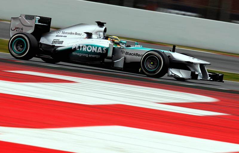 Mercedes Formula 1 Otomobil Araçlar Kanvas Tablo