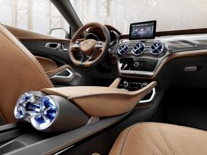 Mercedes Gla Spor Otomobil İç Dizayn Kokpit