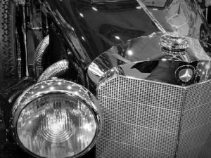 Mercedes Klasik Otomobil Araçlar Kanvas Tablo