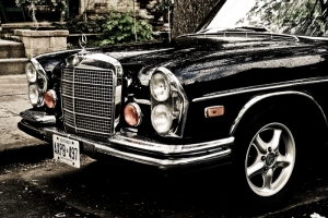 Mercedes Klasik Otomobiller Eski Klasik Arabalar Poster Araclar Kanvas Tablo