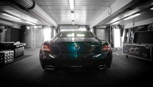 Mercedes Sls Amg Otomobil Kanvas Tablo