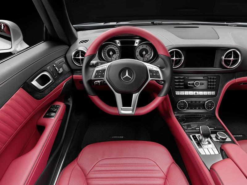Mercedes Spor Otomobil İç Dizayn Kokpit Kanvas Tablo