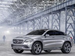 Mercedes Suv Coupe Konsept Otomobil Araçlar Kanvas Tablo