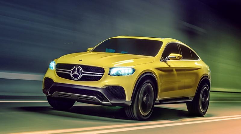 Mercedes Suv Konsept 2 Otomobil Araçlar Kanvas Tablo