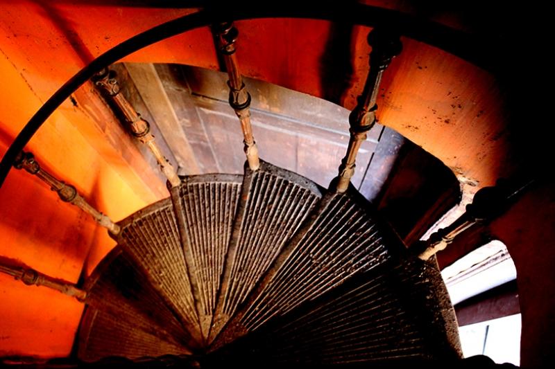 Merdivenler Fotoğraf Kanvas Tablo